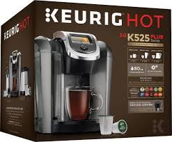 espresso coffee brands keurig k525 single serve k cup coffee maker black 119305 best buy