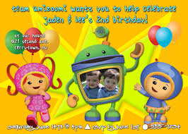 Geo Team Umizoomi Halloween Costumes Team Umizoomi Birthday Party Invitation Printable
