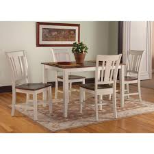 Wood Dining Room by International Concepts Cosmo Weathered Gray Wood Mission Dining