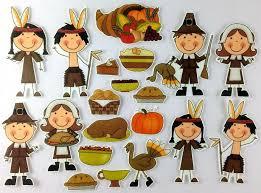 pilgrims and indians thanksgiving dinner felt bymaree