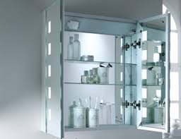 Heated Mirror Bathroom Cabinet Excellent Lighted Bathroom Mirror Cabinet Heated Lights 26860