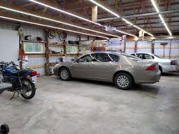 led garage lighting system inexpensive garage lights from led strips finals garage lighting