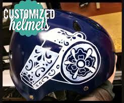 motocross helmet painting diy customized helmets busy mockingbird