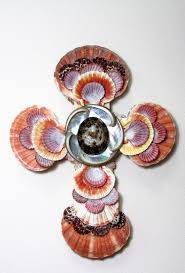 196 best crosses images on pinterest seashell crafts the cross