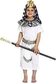 Egyptian Halloween Costumes Girls Fun Shack Egyptian Childrens Costume Age 6 8 Yrs