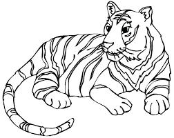snow tiger coloring page snow leopard coloring pages coloring page of a tiger cute tiger