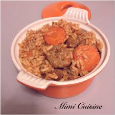 recette cuisine riz aux boulettes recette cookeo mimi cuisine