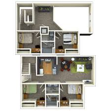 2 bedroom with loft house plans 4 bedroom 2 bathroom loft