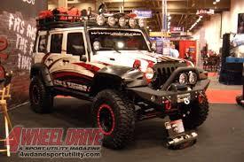 sema jeep yj 0911 4wdweb 84 2009 sema show mbrp jeep wrangler unlimited jk