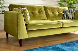 Lime Green Corner Sofa Cricket Sofology