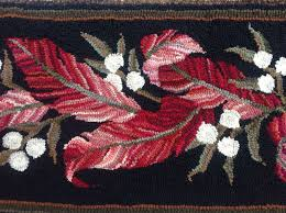 Wool Hand Hooked Rugs 962 Best Primitive Hooked Rugs Images On Pinterest Primitive
