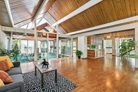 A Frame Style Homes by Rare Double A Frame Oakland Eichler Asks 1 05 Million Curbed Sf