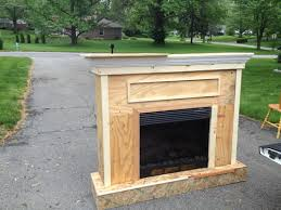 Inexpensive Electric Fireplace by Building A Custom Electric Fireplace Surround Stuff I Want To