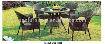 outdoor table and chairs for sale sale garden treasures weatherware wicker outdoor rattan furniture