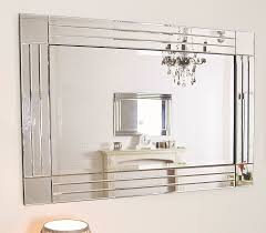 Beveled Bathroom Mirrors by Large Square Wall Mirror 9 Nice Decorating With Wall Mirrors For