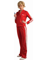 phineas halloween costume sue sylvester track suit glee tv teen costume