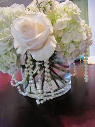 Vases For Bridesmaid Bouquets Best 25 Pearl Centerpiece Ideas On Pinterest Lace Vase Elegant