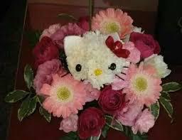 Dog Flower Arrangement 75 Best Hello Kitty Flowers Images On Pinterest Hello Kitty