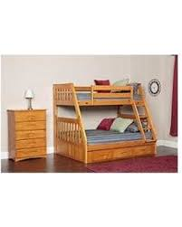 holiday shopping special twin full bunk bed with 5 drawer chest