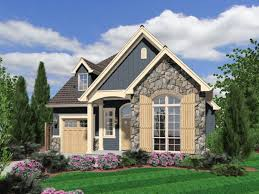 small cottage home plans thin wooden shutters and carriage style garage door poplars