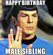 Happy Birthday Star Trek Meme - image result for happy birthday funny happy b day pinterest