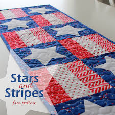 halloween table runner quilt pattern a bright corner stars and stripes table runner free pdf pattern