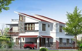 steep slope house plans modern slope house plans two story steep sloping home designs