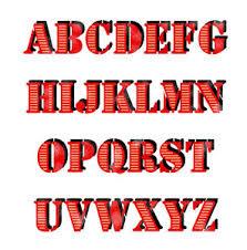 letter stencils alphabet 3d letters airbrush painting decorative
