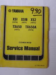 xs650 xs1 xs2 tx650 tx650a service manual 1970 1974 thexscafe