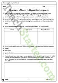 all worksheets personification worksheets for kids free