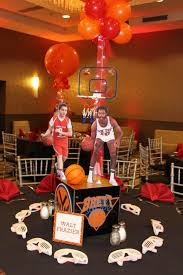 Basketball Centerpieces 95 Best Sports Themed Centerpieces Images On Pinterest Sports