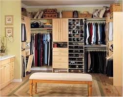 chic master bedroom with walk in closet and bathroom with small