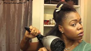 pictures of a black blowout hairstyle how to blowout your natural hair pt 1 of natural hair