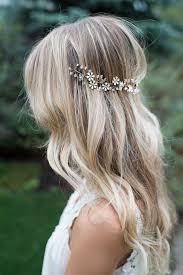 wedding flowers hair boho gold hair flower crown halo hair wrap gold wedding