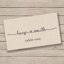 printable name place cards best 25 rustic place cards ideas on wedding place