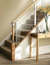 Glass Stair Handrail Wooden Staircase Railing U2013 Smartonlinewebsites Com