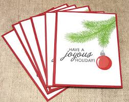 ornament cards etsy