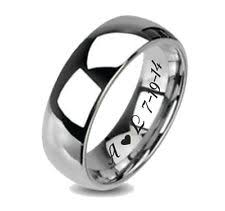 wedding band engravings personalized wedding bands ebay