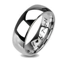 personalized wedding bands personalized wedding bands ebay