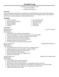 residential worker sle resume best of 10 house cleaning resume