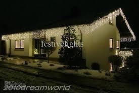 white icicle christmas lights 10m x 0 6 m 320 led icicle curtain lights string christmas xmas
