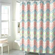 Coral And Navy Curtains Coral And Blue Shower Curtain Coral Colored Shower Curtain Best Of