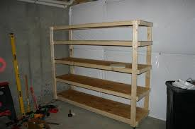 How To Build Garage Storage Shelves Plans by Storage Shelves Garage Plans Perplexcitysentinel Com