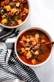 comment cuisiner les butternuts ground beef butternut squash kale soup primavera kitchen