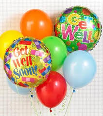 balloon delivery baton the get well balloon bunch baton la florist same day