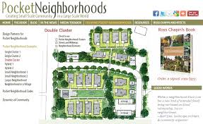 Cluster House Plans Pocket Neighborhood House Plans House Plans