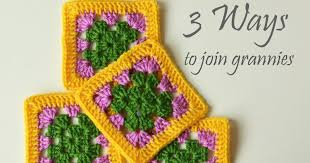 how to join crochet squares completely flat zipper method 3 ways to join granny squares lillabjörn s crochet world