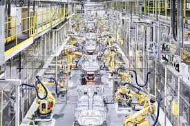 bmw factory robots two born every minute inside nissan u0027s sunderland factory by car