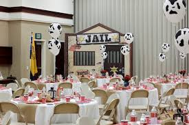 blue and gold decoration ideas kara s party ideas western themed cub scout blue gold banquet