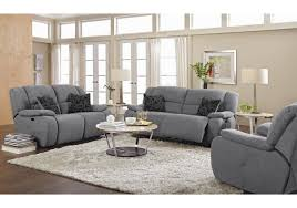 Grey Leather Recliner Sofa Innovative 585520 Gray Power Reclining Sofa Grey Leather